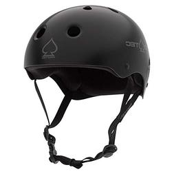 Pro-Tec Full Cut Helmet: Matte Black XL