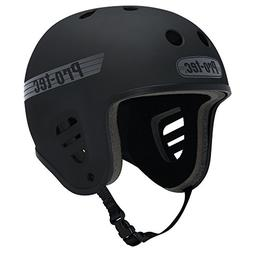 PROTEC Original Full Cut Helmet, Satin Black, Large