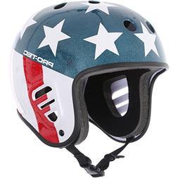Pro Tec Full Cut Easy Rider Helmet - Black - XL