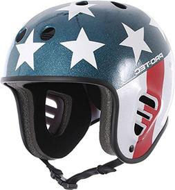 Pro Tec Full Cut Easy Rider Helmet - Black - SM