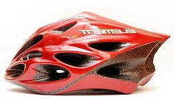 Cycling helmet for Road&MTB bike-215g-Red-Adult-Superlight