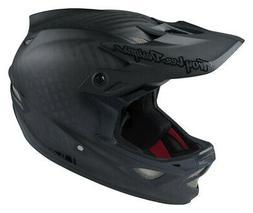 Troy Lee Designs D3 MIPS Carbon Helmet Midnight Black Adult