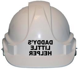 Daddy's Little Helper Children's Kids Hard Hat Safety Helmet