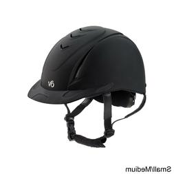Ovation Deluxe Schooler Riding Helmet, Black, Small/Medium