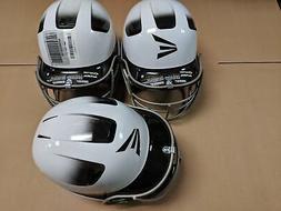 DF-29 3 Pack Easton Natural White/Black Jr Batting Helmet Ba