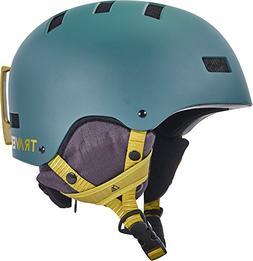 Traverse Dirus 2-in-1 Convertible Snow Helmet, Matte Cypress