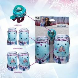 DISNEY Frozen II Helmet & Protective Gear & Bicycle Bell Kne