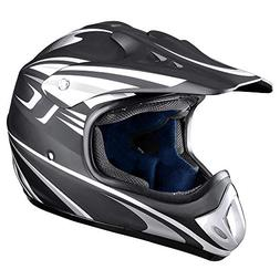 Yescom DOT Outdoor Adult Full Face MX Helmet Motocross Off-R
