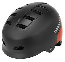 Razor Dual Shell Mulit-Sport Helmet, Youth, Red/Black
