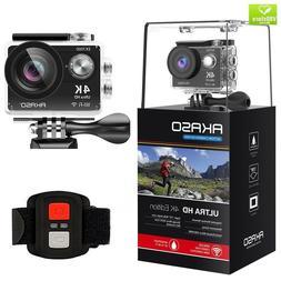 AKASO EK7000 4K WiFi Action Camera 30m Waterproof Camera Rem