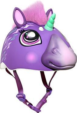 Raskullz Electric Unicorn Helmet, Purple