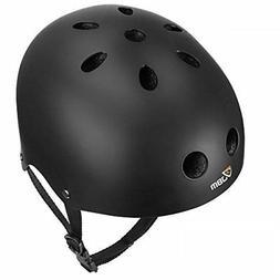 eps foam skateboard helmet black