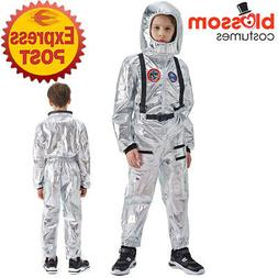 EY64 Astronaut Space Helmet NASA Suit Uniform Child Boys Gir