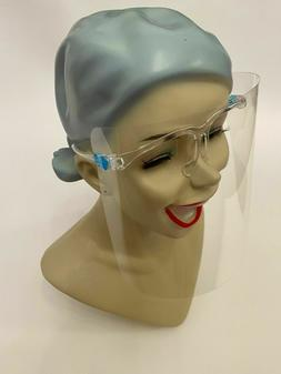 Face Shield Full Cover Clear Glasses Face Protector Reusable