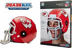 FanHeads Wearable NFL Football Helmets One Size Fits All For