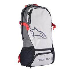 Alpinestars Faster Back Pack, One Size, Steel Gray Spicy Ora