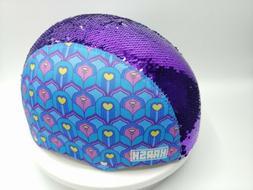 Krash Feather Flip Youth 8+ Bike Helmet, Purple