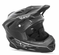 Fly Default Full Face BMX / DH Helmet sz Youth M Matte Black