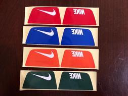 football helmet visor eye shield sticker tab
