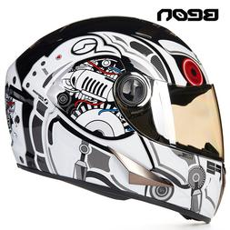 BEON Four Seans Full Face Classic Motorcycle <font><b>Go</b>