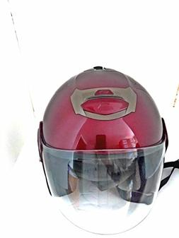 AFX FX-50 Solid Helmet Open Face Red Wine X-Large