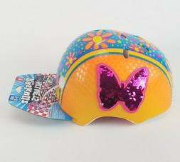 RASKULLZ GIRLS BIKE HELMET - Age 5-8 - MEETS ASTM SAFETY STA
