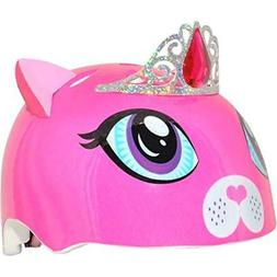 Raskullz Girls Kitty Tiara Helmet, Dark Pink, Ages 5+ Sports