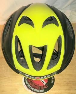 Suomy GLIDER Cycling Helmet : BLACK/YELLOW - NEW IN BOX! Lar