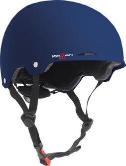 Triple Eight Gotham Matte Helmet, Blue, Large/X-Large