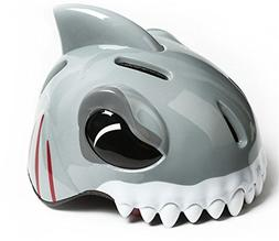 Zjoygoo Gray Shark Design Bicycle Cycle Cycling Bike Helmets