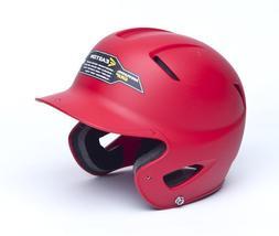 Easton Natural Grip Junior Batting Helmet, Red