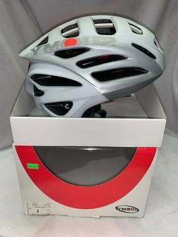 Suomy Gunwind Bicycle Helmet Flat White/Grey Size L-XL  *BRA