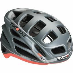 Suomy Gunwind S-Line Bicycle Helmet Flat Grey/Red Size XS-M