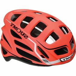 Suomy Gunwind S-Line Bicycle Helmet Flat Orange/White Size L