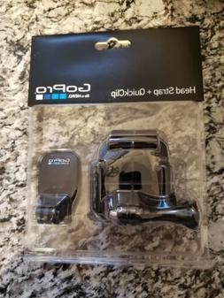 GoPro Head Strap and Quick Clip #ACHOM-001 NEW