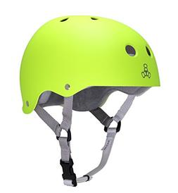 Triple Eight Skater Brainsaver Helmet with Sweatsaver Liner,