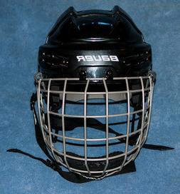 Helmet for bull riding-choice of sizes - NEW-Black-rodeo-PBR