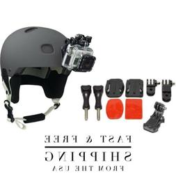 GoPro Helmet Mount Bundle W/ Adhesive Pads For GoPro Hero 3,