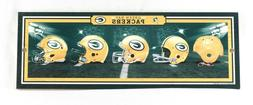 NFL Helmet Plaque GREEN BAY PACKERS History of Helmets Wall