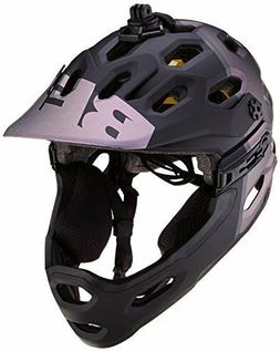 BELL HELMET SUPER 3R MIPS MATTE BLACK/ORION MEDIUM 55-59 CM
