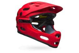 helmet super 3r mips matte hibiscus red