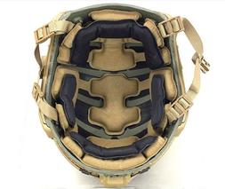 DLP Tactical ImpaX Extreme Pad Set For MICH / OPS-Core / ACH