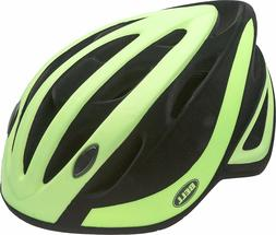 Bell Adult Impel Bike Helmet Matte Green/Black Flocked