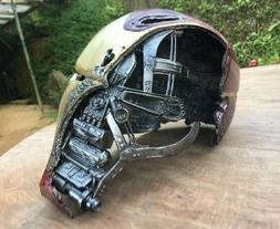 Infinity war Iron man mark 50 helmet avengers hot toys iron
