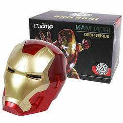 Iron Man Mask with LED Light Super Hero Series Helmet Cospla