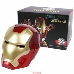 Iron Man Motorcycle Helmet Cosplay Mask for Kids Adult Touch