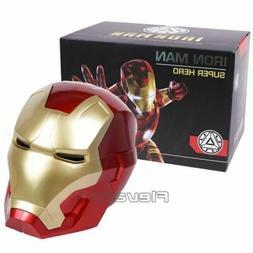 Iron Man Motorcycle Helmet Cosplay Mask Kids Adult Touch Sen