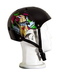 Punisher Skateboards Jinx 11-Vent Skateboard Helmet, Youth S