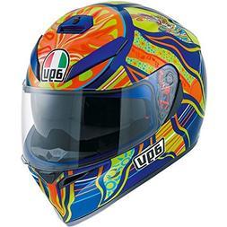 AGV K3 SV Five Continents Helmet - Small/Blue/Orange by AGV