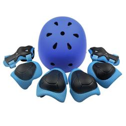 Kid Protective Gear Set Child Helmet Knee Pads Elbow Wrist G